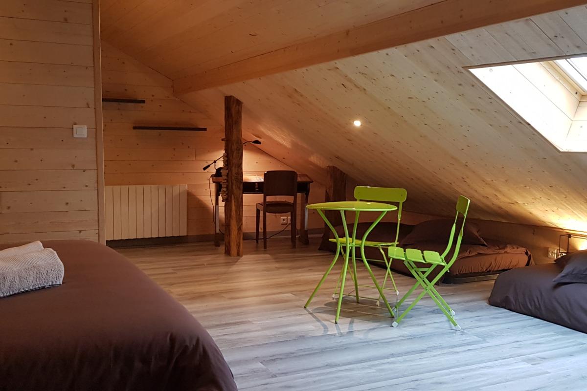 La salle d'eau - Chambre d'hôtes - Vellerot-lès-Vercel