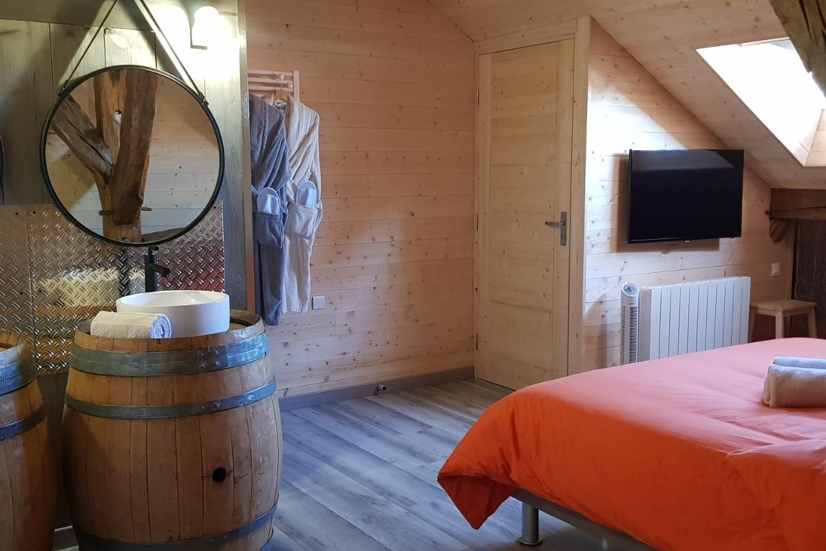 Les vasques - Chambre d'hôtes - Vellerot-lès-Vercel