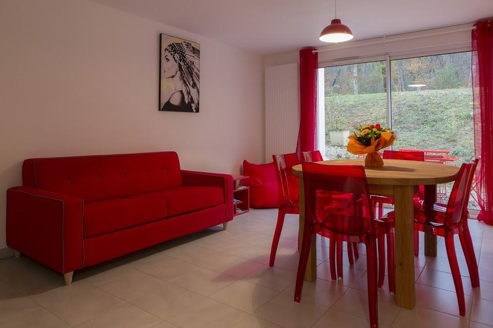 Chambre 1 - Location de vacances - Boussières
