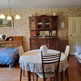 Salon / chambre à coucher - Location de vacances - Orsans