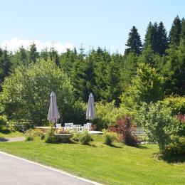 Parc avec terrasse - Chambre d'hôtes - Fournet-Blancheroche