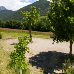 cuisine salon - Location de vacances - Chamaloc
