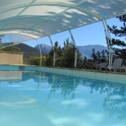 Vue du coin détente - Location de vacances - Marignac-en-Diois