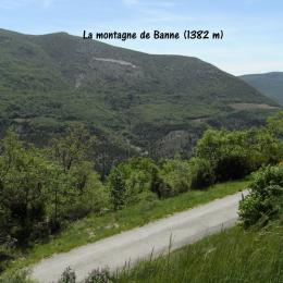 DRÔME PROVENÇALE - Vue devant la maison côté Sud-Ouest... - Location de vacances - Le Poët-en-Percip