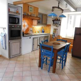La cuisine  - Location de vacances - Saint-Agnan-en-Vercors