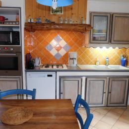 Le plan de travail - Location de vacances - Saint-Agnan-en-Vercors