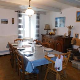 la salle à manger - Location de vacances - Saint-Agnan-en-Vercors