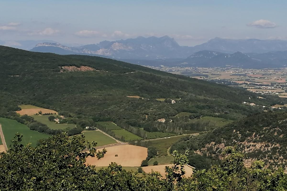 vue du col de Gentil - Location de vacances - Sauzet