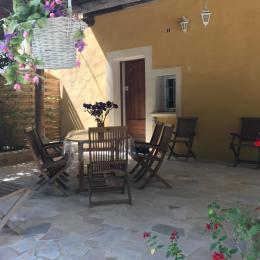 Terrasse ext 1 - Location de vacances - Mollans-sur-Ouvèze
