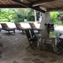 Terrasse ext 2 - Location de vacances - Mollans-sur-Ouvèze