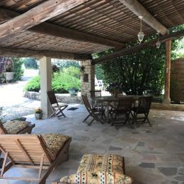 Terrasse ext 3 - Location de vacances - Mollans-sur-Ouvèze