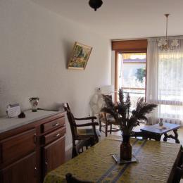 Salle à manger/Salon - Location de vacances - Nyons