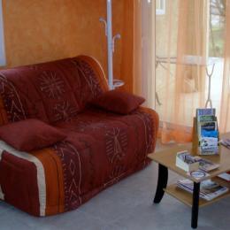 le salon - Location de vacances - Châteauneuf-du-Rhône