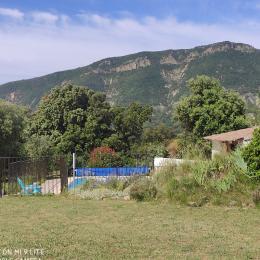 La piscine à l'abri des regards.  - Location de vacances - Roche-Saint-Secret-Béconne
