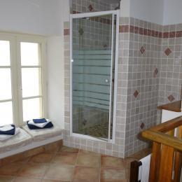 Salle d'eau 1 - Location de vacances - Roussas