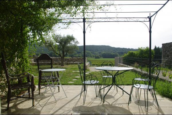 Terrasse - Location de vacances - Roussas