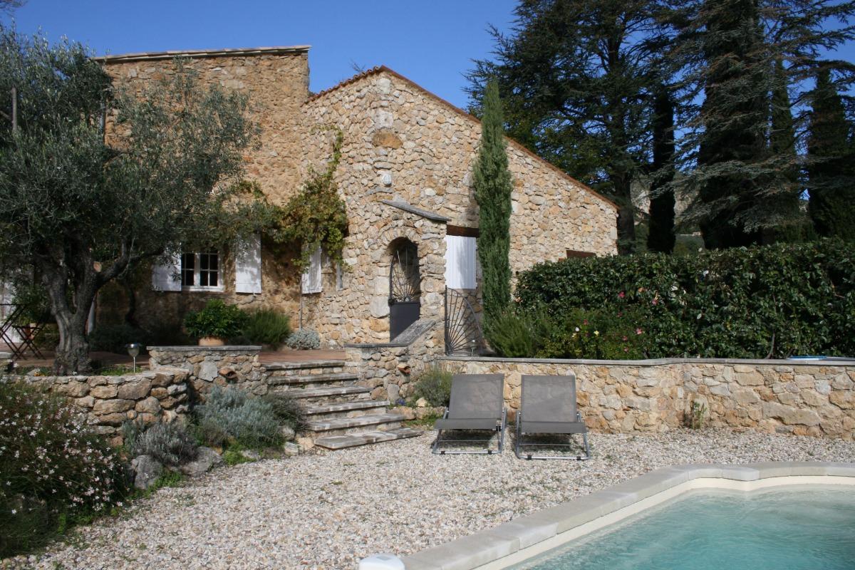 Maison en Provence avec piscine privée  - Location de vacances - Bénivay-Ollon