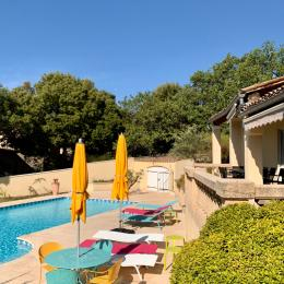 Terrasse - Location de vacances - Clansayes
