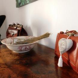 chambre fleur - Location de vacances - Sainte-Croix