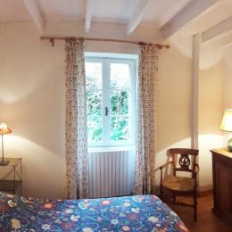 La chambre à coucher. - Location de vacances - La Répara-Auriples