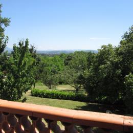 Vue au Sud sur la vallée de la Drôme - Location de vacances - Allex