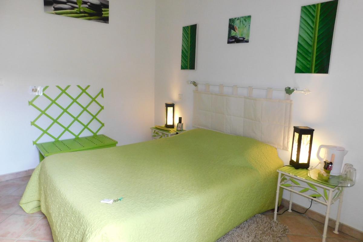 Ma chambre Bambou - Chambre d'hôtes - Donzère