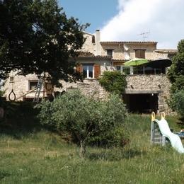 vue du gite L'abricotine ! - Location de vacances - Roche-Saint-Secret-Béconne