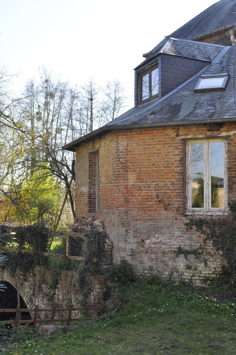 vue aérienne du Moulin et de ses environs