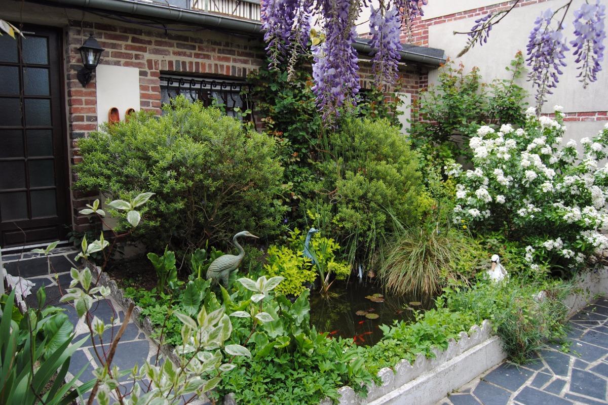 Jardin - Chambre d'hôtes - Pont-Audemer