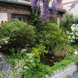Jardin - Chambre d'hôte - Pont-Audemer