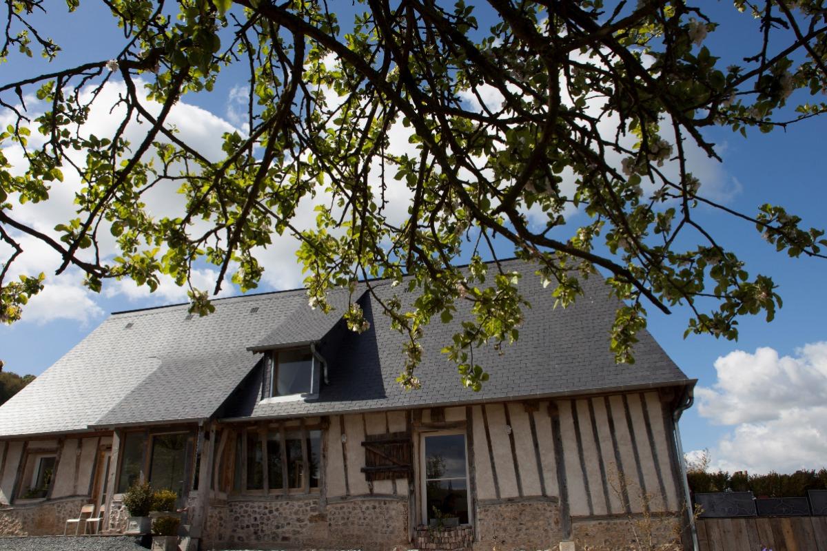 Extérieur  - Location de vacances - Marais-Vernier
