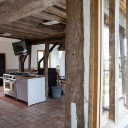 salle à manger - Location de vacances - Marais-Vernier
