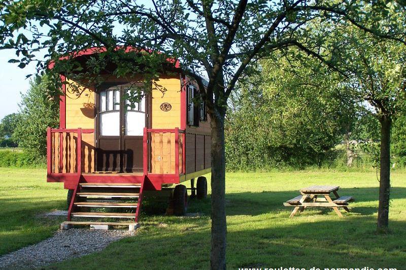 Roulotte Reinette - Location de vacances - Calleville
