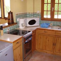 cuisine équipée - Location de vacances - Ermenonville-la-Grande