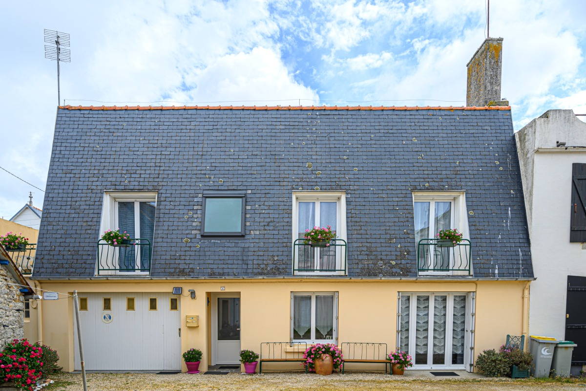 façade de la location - Location de vacances - Guilvinec