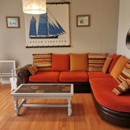 La chambre avec deux lits de 90 cm - Location de vacances - Ploudalmézeau