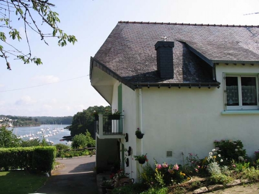 vue du balcon - Location de vacances - Moëlan-sur-Mer