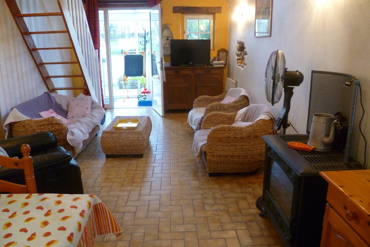 Salon - Location de vacances - Plougonvelin
