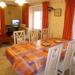 salle à manger salon - Location de vacances - Plouhinec