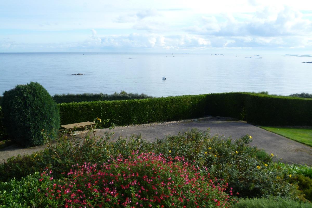 vue mer de la terrasse - Location de vacances - Saint-Pol-de-Léon