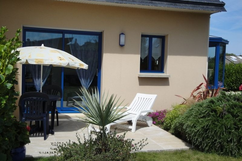 terrasse devant la maison - Location de vacances - Roscoff