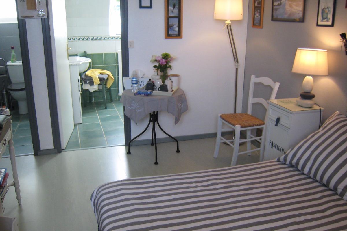 vue wc-sdb-chambre - Chambre d'hôtes - Guipavas