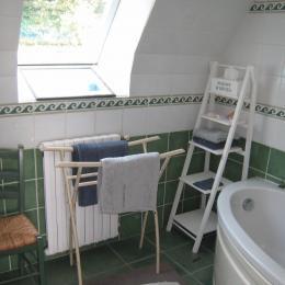salle de bains de la chambre d'hotes - Chambre d'hôtes - Guipavas