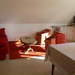 salon TV - Location de vacances - Clohars-Fouesnant