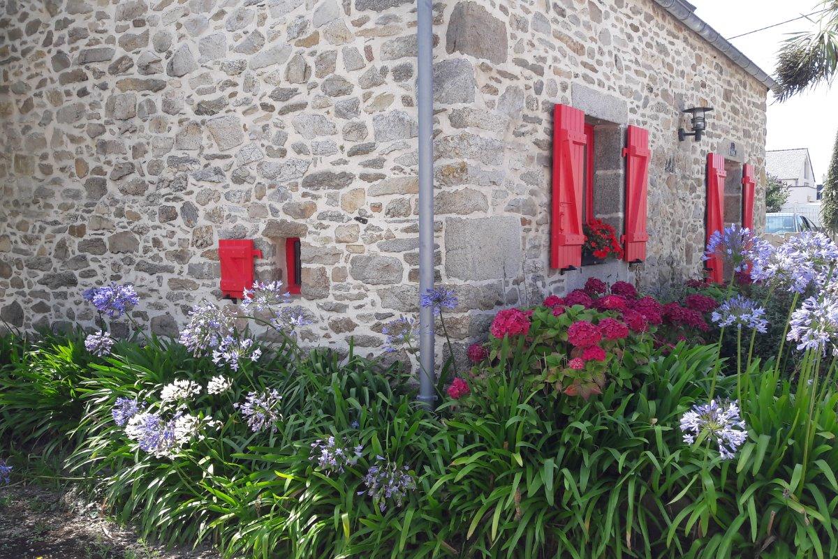 la facade - Location de vacances - Santec