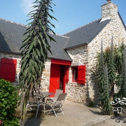 Coté terrasse - Location de vacances - Santec