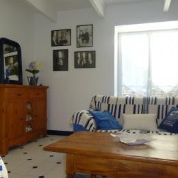 Chambre lit 140 2 personnes - Location de vacances - Guilvinec