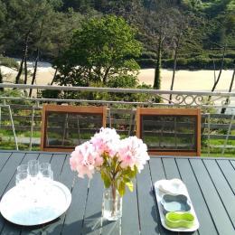 Location vue de l'anse de Trefeuntec - Location de vacances - Plonévez-Porzay