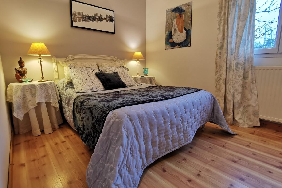 Chambre avec lit 140 - Chambre d'hôtes - Plougonvelin