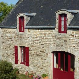L'entrée de la maison de Kerrolland - Location de vacances - Fouesnant